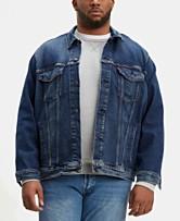 c94d4b1090450 Levi s® Men s Big   Tall Stretch Denim Trucker Jacket
