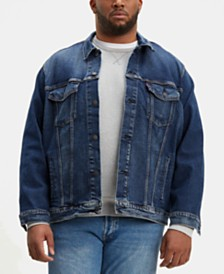 Levi's® Men's Big & Tall Stretch Denim Trucker Jacket