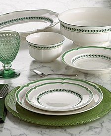 French Garden Green Line Dinnerware Collection