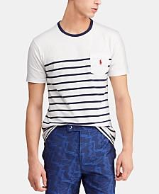 Polo Ralph Lauren Men's Striped Cotton T-Shirt
