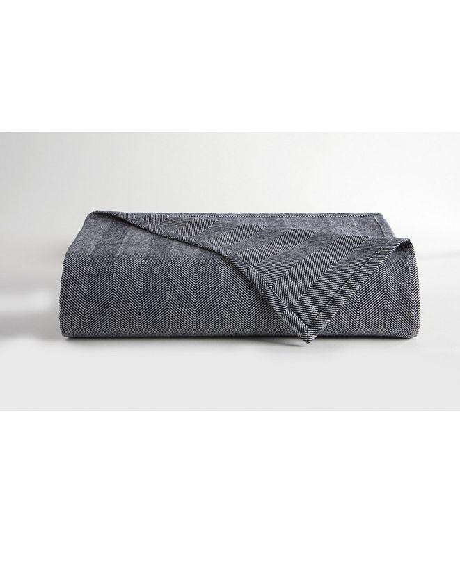 DownTown Company Herringbone Blanket, Queen