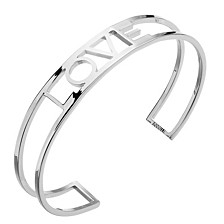 """""""LOVE"""" cuff bracelet"""