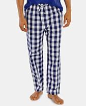 baabe112c36cd Nautica Men s Buffalo Plaid Cotton Pajama Pants
