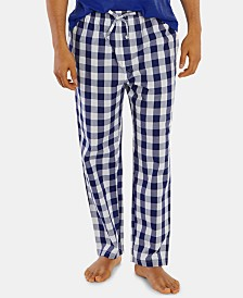 Nautica Men's Buffalo Plaid Cotton Pajama Pants