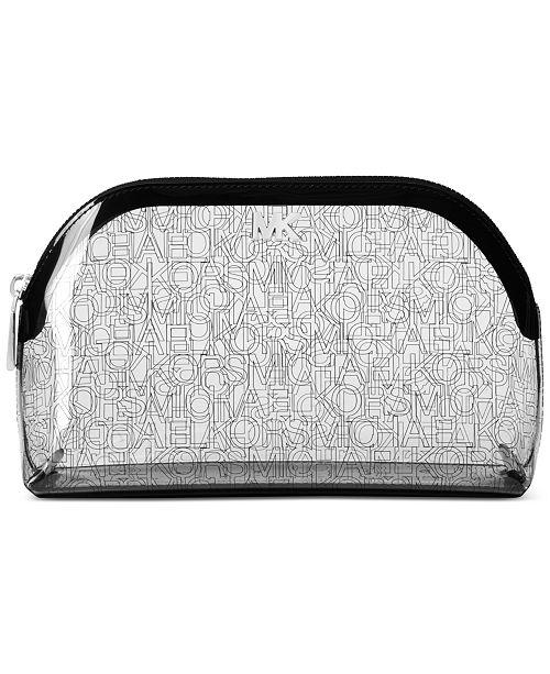 6d2325664a99 Michael Kors Clear Logo Travel Pouch & Reviews - Handbags ...