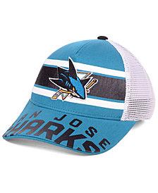 Outerstuff Boys' San Jose Sharks Redline Snapback Cap