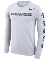 23a271c8cd20 Nike Men's Michigan State Spartans Repeat Logo Long Sleeve T-Shirt