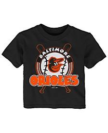 Outerstuff Baltimore Orioles Fun Park T-Shirt, Toddler Boys (2T-4T)