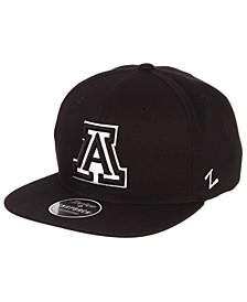 Arizona Wildcats Black & White Snapback Cap