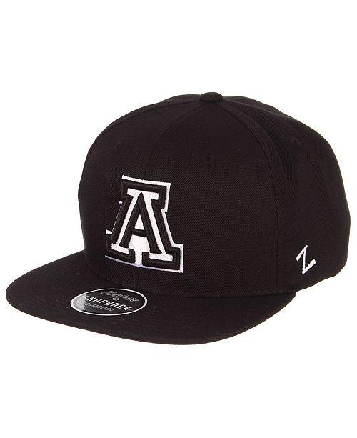 Zephyr Arizona Wildcats Black & White Snapback Cap