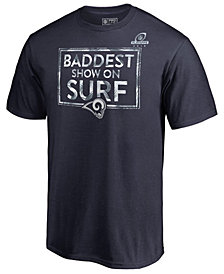 Majestic Men's Los Angeles Rams Playoff Package T-Shirt