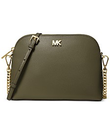 1cf63a20b500 Michael Kors Jet Set East West Crossgrain Leather Crossbody ...
