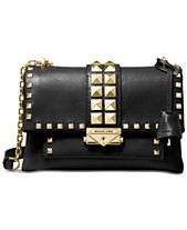 fb0e8f0b8aa132 MICHAEL Michael Kors Cece Studded Leather Chain Shoulder Bag