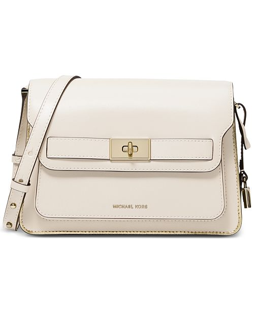 d3a6990455da Michael Kors Tatiana Flap Shoulder Bag & Reviews - Handbags ...