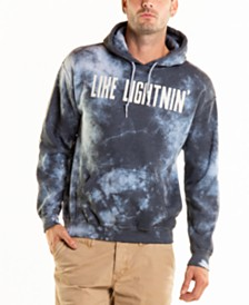 Original Paperbacks Bayside Like Lightening Crystal Wash Tie Dye Hoodie