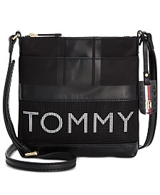 Tommy Hilfiger Julia Nylon Mesh Crossbody