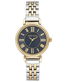 Anne Klein Women's Two-Tone Bracelet Watch 30mm