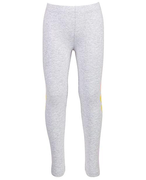 Epic Threads Little Girls Heart-Stripe Leggings, Created for Macy's