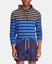 32c7edaf11776 Polo Ralph Lauren Men s Big   Tall Striped Hooded Long-Sleeve T-Shirt