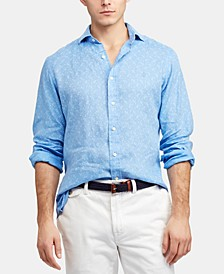 Men's Big & Tall Classic Fit Linen Shirt
