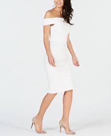 a38cf5b558e Thalia Sodi Off-The-Shoulder Bodycon Dress