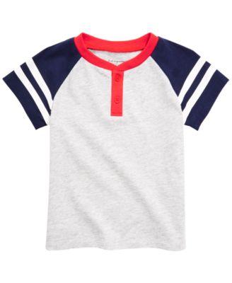 Baby Boys Henley T-Shirt, Created for Macy's
