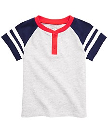 First Impressions Baby Boys Henley T-Shirt, Created for Macy's