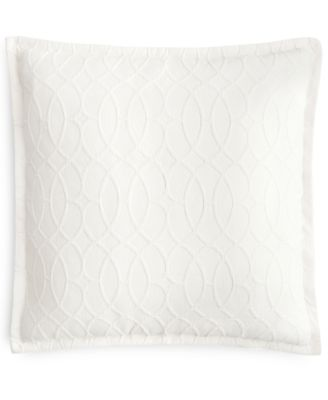 CLOSEOUT! Interlock Cotton European Sham, Created for Macy's