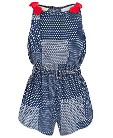 First Impressions Baby Girls Patchwork Cotton Romper, Created for Macy's