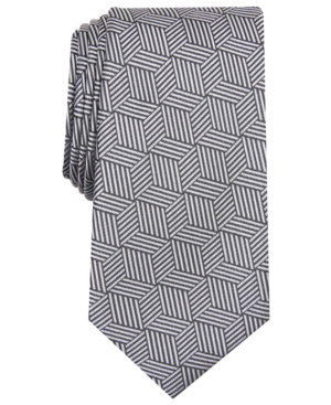 Alfani Men's Geometric Tie, Created for Macy's