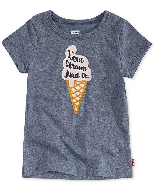 d26e406e8 Levi's Baby Girls Ice Cream Logo Graphic T-Shirt & Reviews - Baby ...