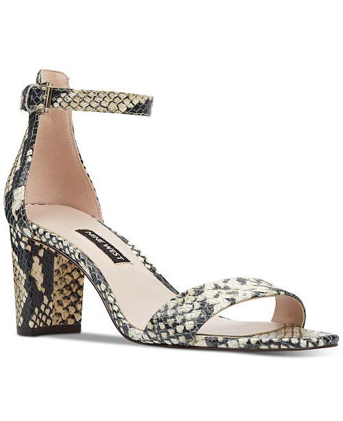 6dd94efba38 Pruce Block-Heel Sandals
