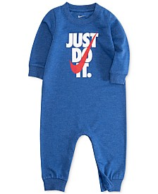 Nike Baby Boys Just Do It Graphic Coverall