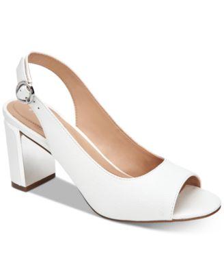 White High Heels - Macy's