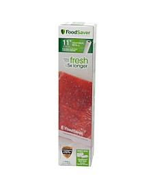 "FoodSaver 11"" x 16 Vacuum Seal Roll with BPA-Free Multi-Layer Construction for Food Preservation, 1 Roll"