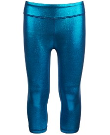 Ideology Big Girls Shiny Capri Leggings, Created for Macy's