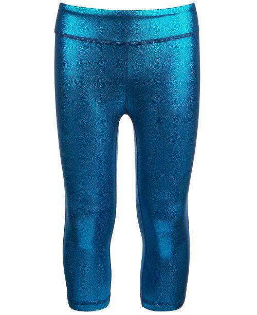 Ideology Big Girls Shiny Capri Leggings, Created for Macy's