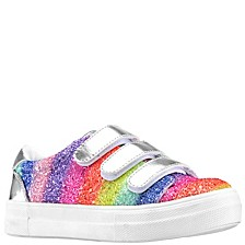 Little & Big Girls Gizella Glitter Sneakers