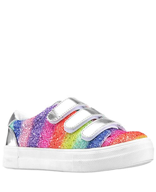 Nina Little & Big Girls Gizella Glitter Sneakers