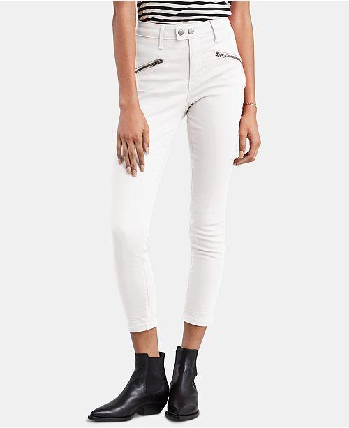 Levi's 721 Moto Ankle Skinny Jeans