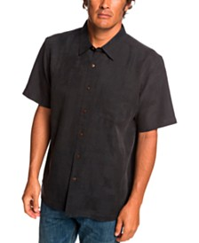 Quiksilver Waterman Men's Kelpies Bay Short Sleeve Shirt
