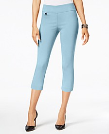 Tummy-Control Pull-On Capri Pants, Created for Macy's
