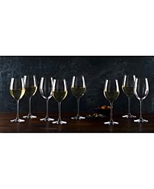 Moments White Wine Glasses, Set of 8