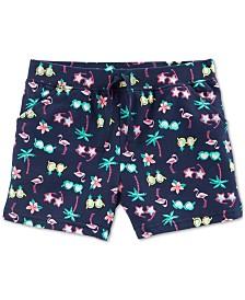 Carter's Little Girls Sunnies-Print Cotton Shorts