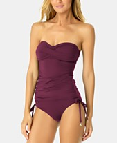 520ff816c1097 Anne Cole Strapless Tankini Top & Bottoms. Quickview. 4 colors