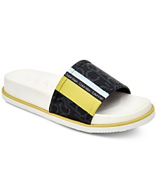 Calvin Klein Women's Marlo Pool Slides