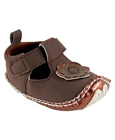 Luvable Friends Mary Jane Dress Up Shoes,0-18 Months