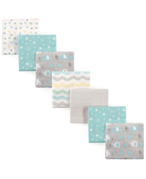 Luvable Friends Flannel Receiving Blankets, 7-pack, One Size In Multi