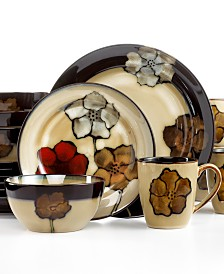 Pfaltzgraff Painted Poppies Dinnerware Collection