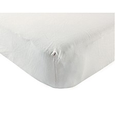 Touched By Nature Organic Cotton Fitted Crib Sheet, One Size